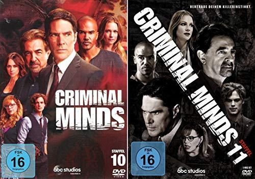 Criminal Minds - Die komplette 10. + 11. Staffel (10-Disc | 2-Boxen) -