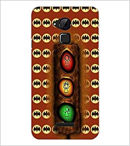 PrintDhaba Signal D-6074 Back Case Cover for COOLPAD NOTE 3 LITE (Multi-Coloured)