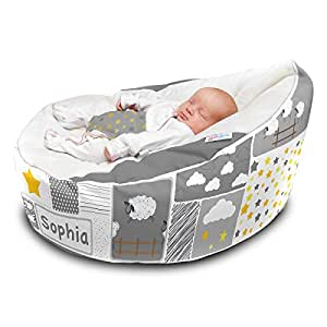 Other Grey 2019 New Style Gaga Pre-filled Baby Bean Bag