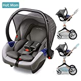 Hot Mom Autoschale Group 0+ entspricht EU standard ECE44, kompatible mit hot mom Kinderwagen modell F023 ohne ISOFIX Station
