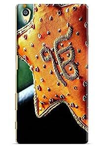 Omnam Ek Om Kar Printed Designer Back Cover Case For Sony Xperia Z5 Premium