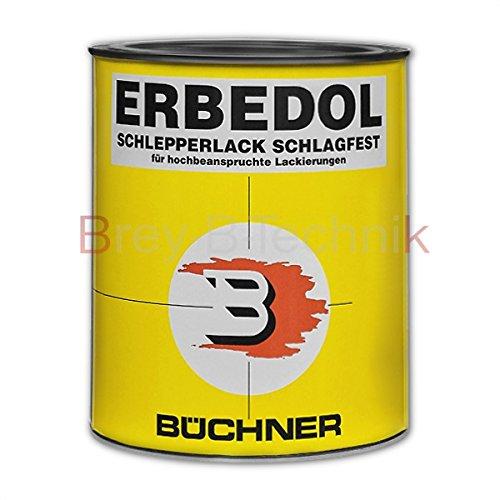 4663 Krone-rot = RAL 3000 Büchner Erbedol Lack Kunstharzlack Farbe 750ml 719