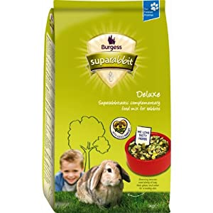 Burgess Supa Deluxe Rabbit Food 3kg from Burgess