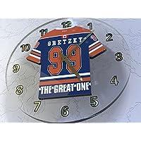 WAYNE GRETZKY THE GREAT ONE - EDMONTON OILERS NHL HOCKEY SOBRE HIELO - RELOJ DE PARED - EDICION LIMITADA LAS LEYENDAS DEL DEPORTE
