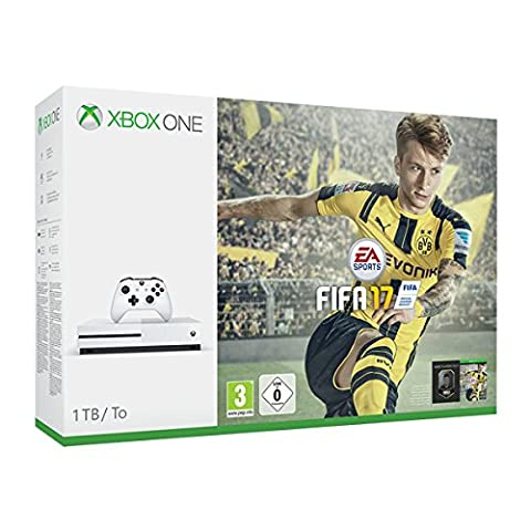 Pack Console Xbox One S 1 To + Fifa 17