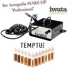 Set de aerografia profesional para maquillaje