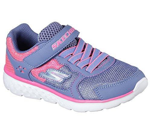 Skechers Boys & Girls Go Run 400 Sparkle Casual Comfort Textile Shoes - Sparkle Mesh-sandalen