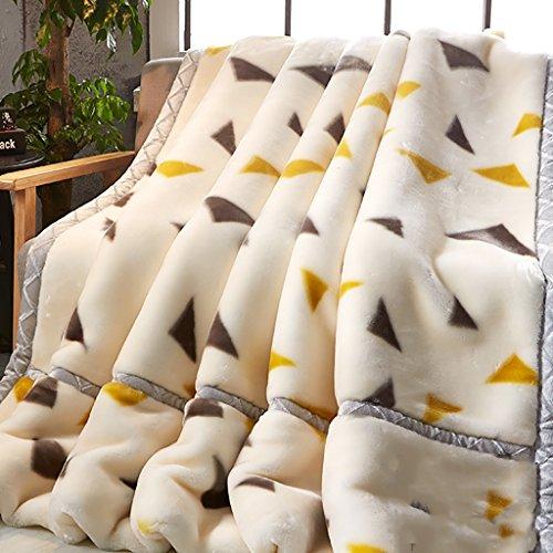 Simple Modern Four Seasons Blanket Little Blanket Super Weiches Luxus und Komfort Einfache und großzügige Niedrigtemperatur-Wäsche Geeignet für Betten, Stühle und Sofas -Max Home ( größe : 200×230cm )