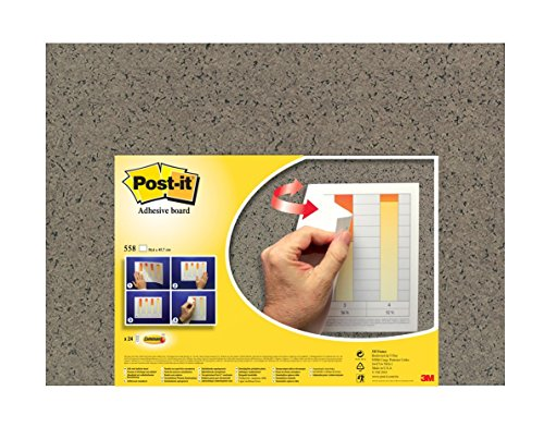 Price comparison product image Post-it Adhesive Memo Notice Board - Cork Design - 58 cm x 46 cm