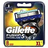 Gillette Fusion5 ProGlide Rasierklingen, 8 Stück, briefkastenfähige Verpackung - Gillette
