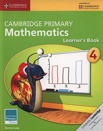 Cambridge Primary Mathematics. Learner's Book Stage 4 (Cambridge Primary Maths) por Emma Low