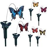 Vktech–Jardín solar de corriente Artificial flatternde mariposa