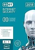 ESET Internet Security (2018) Edition 3 User (FFP) Software Bild