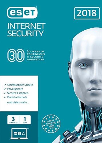 ESET Internet Security 2018 Edition 3 User (FFP)