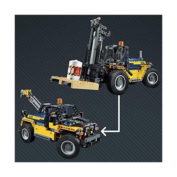 LEGO- Technic Carrello elevatore Heavy Duty, Multicolore, 42079 2 spesavip