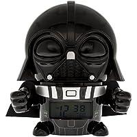 BulbBotz Despertador Infantil Darth Vader, Negro, 8.89x12.7x13.97 cm
