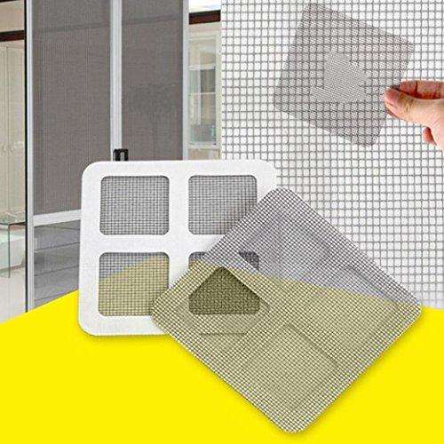 hunpta 9Fix Your Net Fenster für Home Anti Mosquito Reparatur Bildschirm Patch Aufkleber schwarz