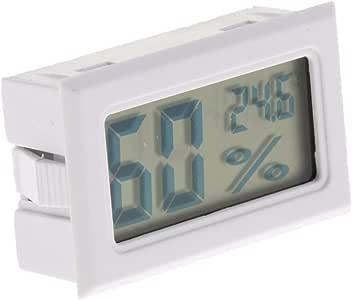 SONDA PER ACQUARIO ACQUA PESCE NERO//BIANCOc 50?~70 CON LCD DIGITALE TERMOMETRO