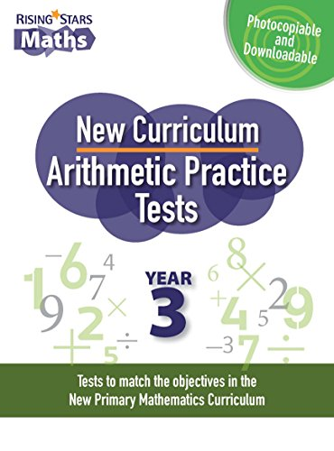 New Curriculum Arithmetic Practice Tests Year 3