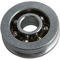 Yibuy Polea de Ranura para rodamiento de Bolas de Acero, Tipo U, para Rueda de Alambre, 27,3 x 9 mm
