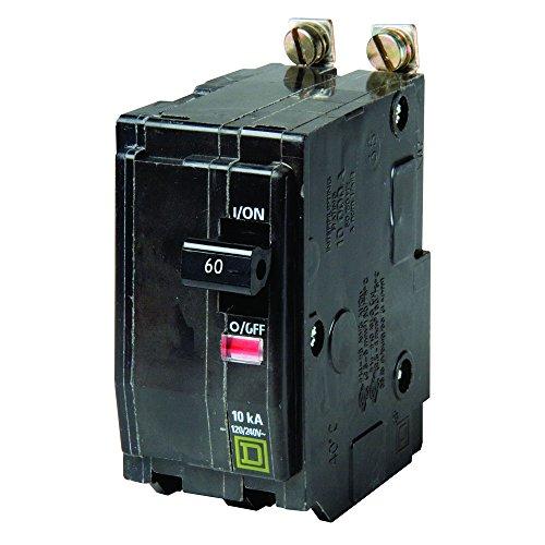 Platz D von Schneider Electric qob260cp QO 60Amp zweipol aufschraubbaren Circuit Breaker,