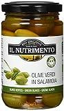 IL NUTRIMENTO Grüne Oliven In Salzlake, 3er Pack (3 x 280 g)