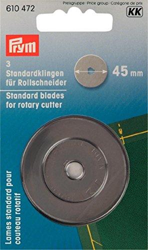Preisvergleich Produktbild Prym 610472 Ersatzklinge Stahl 4,5 cm, 3 Stk.