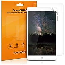 2x kwmobile Láminas protectoras de pantalla para Chuwi Hi8 / Hi8 Pro protector transparente para display de tableta