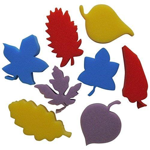 art-straws-am252-leaves-sponge-painting-shapes