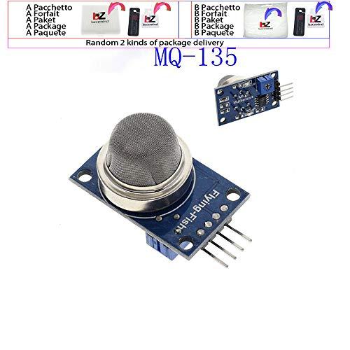 MQ-2 MQ-3 MQ-4 MQ-5 MQ-6 MQ-7 MQ-8 MQ-9 MQ-135 Erkennungssensormodul für Arduino Starter DIY Kit, MQ-135 Rapid Response Panel