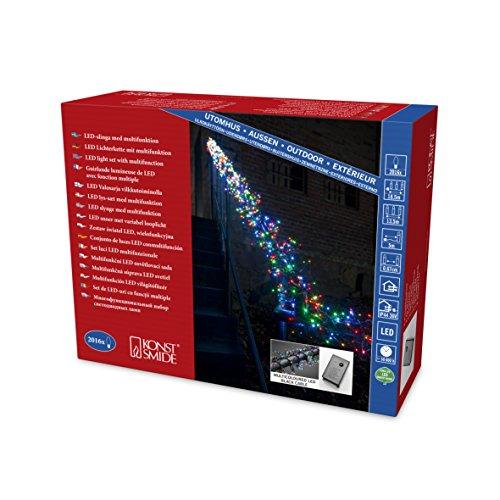 Konstsmide 3866-500 Micro LED Büschellichterkette