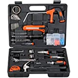Black + Decker hand tool kit (Orange/Black)