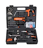 Black + Decker Hand Tool Kit (108-Piece), Orange and Black