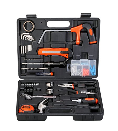 Black + Decker Hand Tool Kit (Orange and Black, 108-Piece)