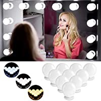 Hollywood Style LED Vanity Mirror Lights Kit, Mirror Lights with 3 Light Modes and 10-Level Brightness, USB Powered Vanity Mirror Makeup Light Kit for Dressing Table Dressing Room
