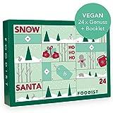 Foodist Veganer Adventskalender 2019 mit 24 gesunden Snacks, Schokoladen Leckereien von kleinen Manufakturen- exklusive Geschenkidee Weihnachten mit Rezepten und DIY Tipps im Booklet (Vegan 2019)