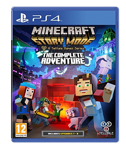 Minecraft story mode complete adventure - playstation 4 - [edizione: regno unito]