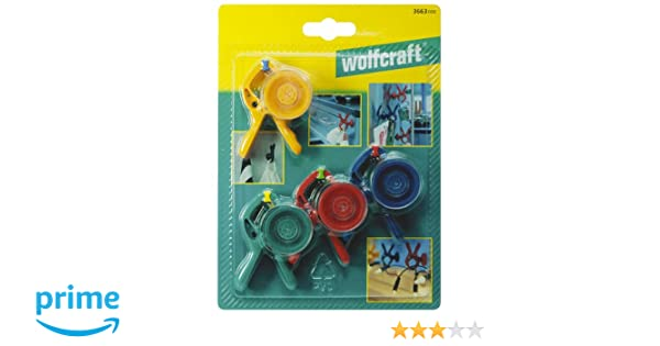 Wolfcraft 3663000 Mini Spring Clamps microfix S 4 by Wolfcraft