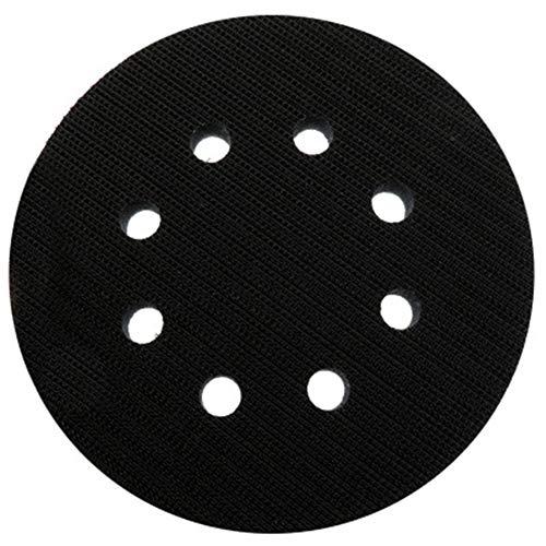 Gizayen 5 Inch 8 Hook Loop Soft Sponge Cushion Interface Buffer Pad 125mm for CD (Portercable Sander)