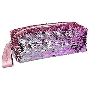Top Model TOPModel Bolso de Belleza con Lentejuelas Reversibles Rosa (0010480), Color (DEPESCHE 1)