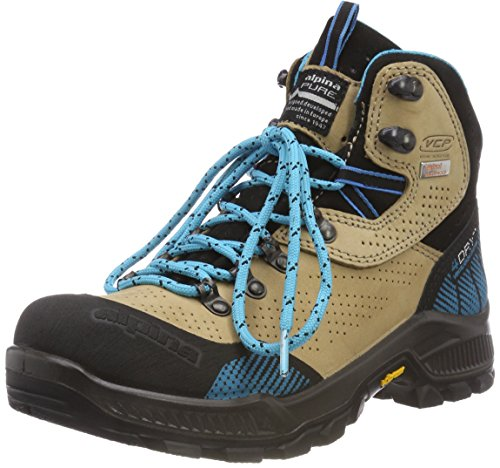 Alpina Damen 680406 Trekking-& Wanderstiefel, Braun (Braun 2), 41 EU (7.5 UK) -