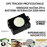 Localizzatore GSM GPS tracker carscop CCTR 800+ magnetico durata 2 mesi PROFESSIONALE impermeabile immagine