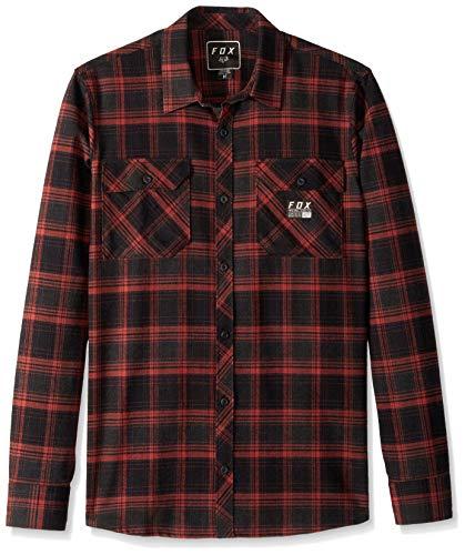 Fox Herren Hemd lang Traildust Flannel Shirt LS -