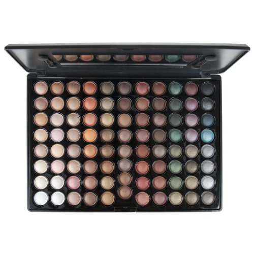 Blush Professional Palette de fard à paupières 88 couleurs Hot Earth
