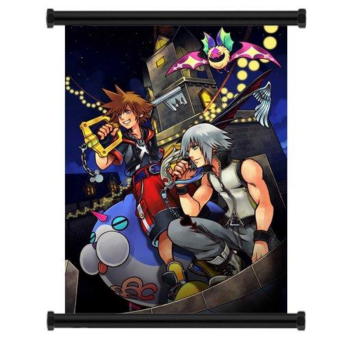 Kingdom Hearts WallScroll, Textilposter, 40,6x55,9cm
