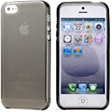 ihomegadget CRYSTAL GEL Hard Case for iphone 5 with Free Stylus and Screen Protector