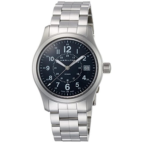 Hamilton Hamilton Khaki Field Quartz Men's Watch – h68201143 Steel Bracelet – hamilton-h68201143
