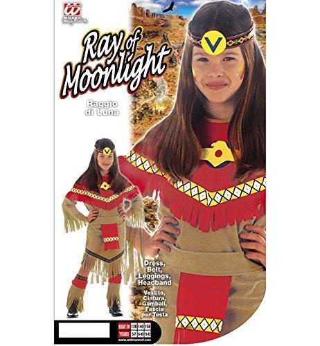 Imagen de ray  disfraz de indio del salvaje oeste para niña, talla 11  13 años 36668  alternativa