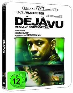 Deja Vu - Wettlauf gegen die Zeit (Steelbook) [Blu-ray] [Import allemand]