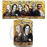 Lustige Kaffee Tasse Becher Great British Writers Funny Novelty Coffee Tea Mug